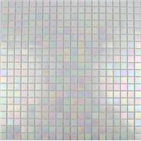 15P11 white pearl style bathroom mosaic glass mosaic