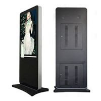 55 inch digital floor stand advertising display with touch screen
