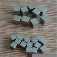 Tungsten Alloy (Wolfram) Cube for Military Defens