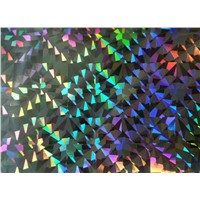 CPP holographic heat sealable film