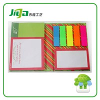 Kraft paper cover colorful paper custom sticky notes
