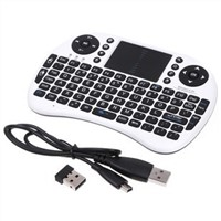 New business gifts rechargeable 2.4G wireless Bluetooth keyboard and mouse