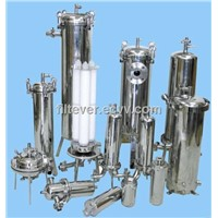 Stainless Steel 316 Multi-Cartridge Filter Housing for Pharmaceutical/Chemical/Food/Winery/Brewery