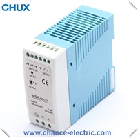 MDR din rail type 60w switching power supply smps