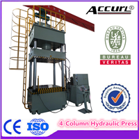 aluminium foil 4-column hydraulic press