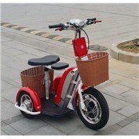 Electric Tricycle Scooter/Electric Trike Scooter/Electric Disabled Scooter With 48V/12AH Lithium