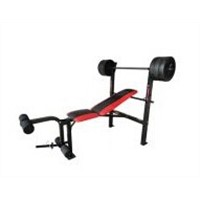 Ajustable barbell lifting bench