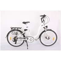 Light weight electric bike with pedals
