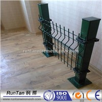 Easily install pvc coated welded wire mesh fence /3D mesh fence panel