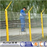 Powder coated flower garden wire mesh fencing