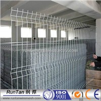 3D PVC coated galvanized curvy wire fence