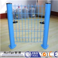 welded mesh fence / pvc privacy fence