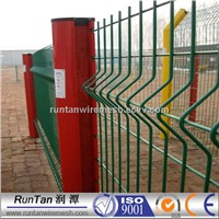 3d curved welded fence metal curved panel fence(professional manufacturer factory price)