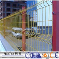 3d curved wire mesh fencing panels/ road wire mesh fence