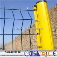3D welded galvanized powder coated Curvy Security Fence