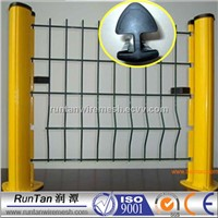 powder coating 3d curved welded wire mesh fence