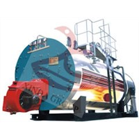 Industial usage steam output 6 ton gas boiler