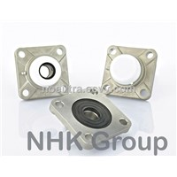 Square 4 bolt flange unit SF in stainless steel