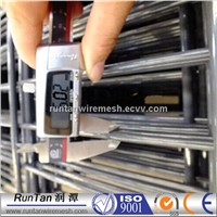 2D powder coated galvanized wire mesh fence panel/868/658 wire fence