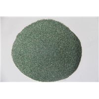 Green silicon carbide for refractory material