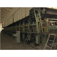 Kraft paper/fluting paper making machinery supplied by shandong xinhe--model 2400-5600mm