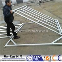 galvanized Hot dip galvanised corral run fencing yard 6ft portable horse run panels