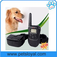 Promotion 300 Meters LCD Remote Control Dog Training Collar Bark Stop Collar