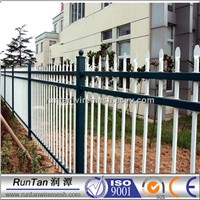 iron fence front yard