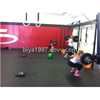 gym rubber floor mat/rubber exercise mat