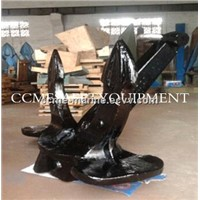 steel casting type A,B,C hall ship anchor for sale with CCS,ABS,LR,DNV,NK,BV Certificate