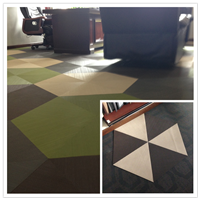 woven pvc flooring and wall covering