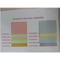 Color pearl paper with different weights