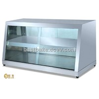 Stainless Steel Glass Electric Food Warmer Display BY-DH1350