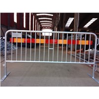 Haotian welded steel pipe temporary pedestrian barricade experienced factory