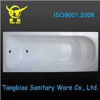 Hot sale acrylic bathtub,acrylic bathtub reinforced with fiberglass and resin