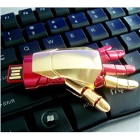 Cool iron man hand usb stick
