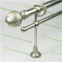 Double flexible high end curtain rod