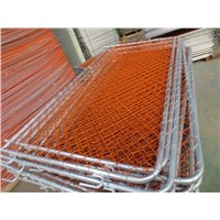 construction steel chain link barrier/Bike Rack / Bicycle Barricade