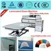 One step processing EVA/TPU laminated glass machine