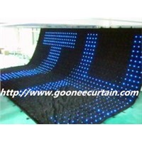Flexible LED Display Curtain for Performance