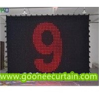Low Price with Good Quality of LED Display Curtain