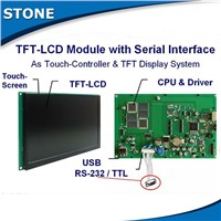 stone hmi tft color touch screen monitor with rs232