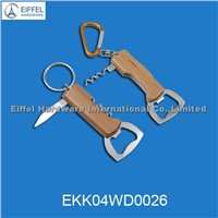 Hot Sale Bottle Opener Keychain (EKK04WD0026)