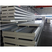 Galvanized Steel with Pu Sandwich Panel for wall and roofing