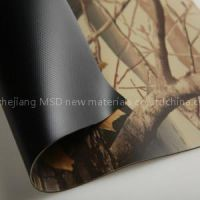 Jungle Camouflage Printed PVC Coated Fabric for Boat