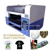 Multi-Purpose 6 Colors A3 Size DTG T-Shirt Printer /Digital Flatbed Printer