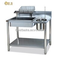 Practical Stianless Steel Powder Wrapping Table BY-GW1000