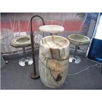 Green Onyx Barrel Sink,Green Onyx Pedestal Sink,Green Onyx Wash Basin