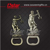 2014 Free design metal souvenir bottle opener