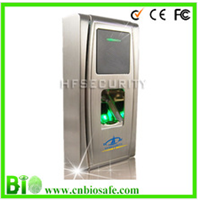 IP 65 Metal Outdoor Fingerprint and ID Card Access Control device F30